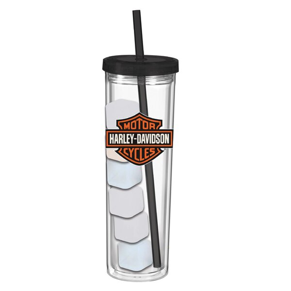 Harley-Davidson® 16 oz. Acrylic Travel Tumbler by Evergreen Enterprises, Inc