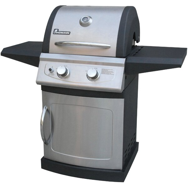 Falcon Series 2-Burner Propane Gas Grill with Cabinet by Landmann