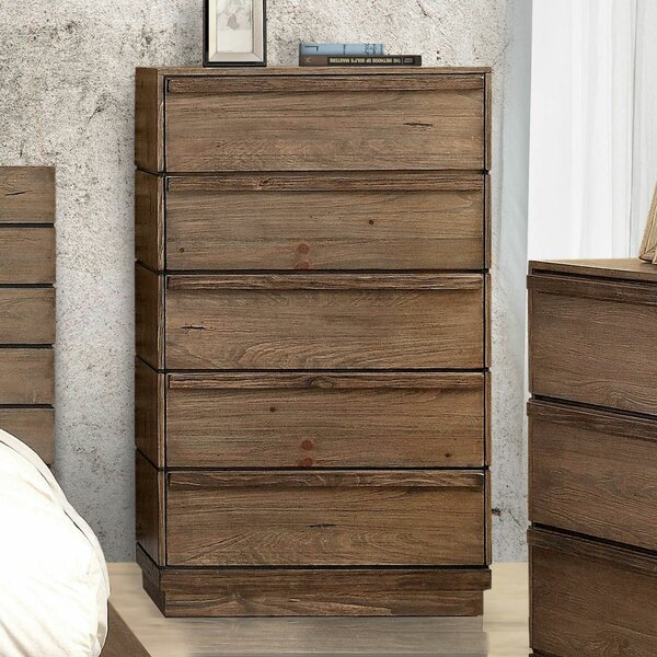 Anthea 5 Drawer Chest by Loon Peak
