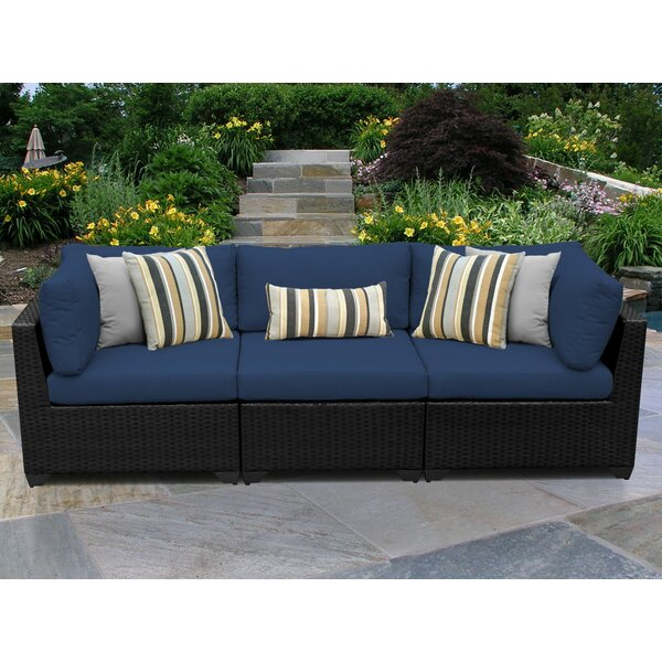 Fernando Patio Sofa with Cushions by Sol 72 Outdoor