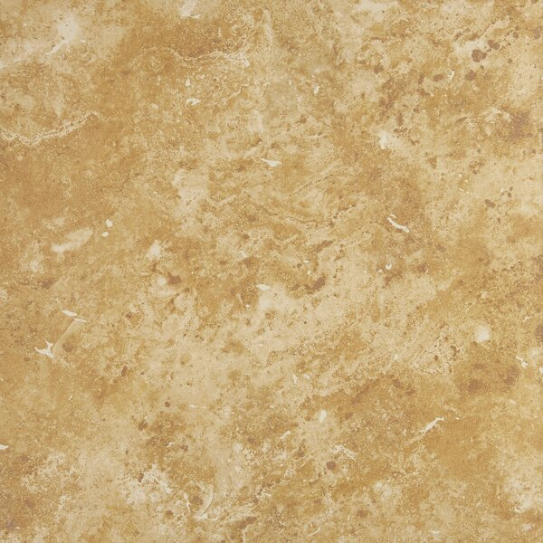 Cromwell 12 x 12 Ceramic Field Tile in Amber by Itona Tile