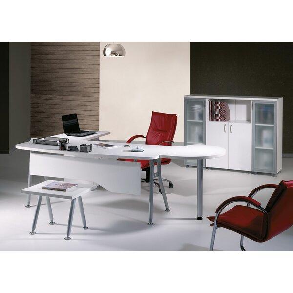 Puente Modern 6 Piece L Shaped Desk Office Suite by Brayden Studio