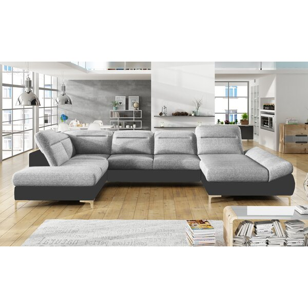Aubuchon XL Sleeper Sectional by Orren Ellis