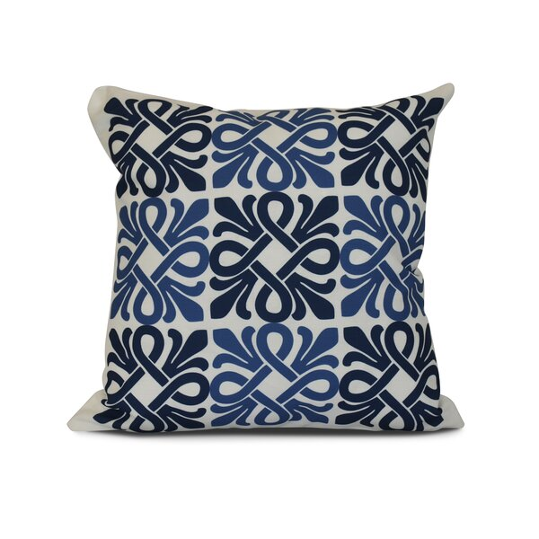 Temple Terrace Outdoor Throw Pillow by Beachcrest