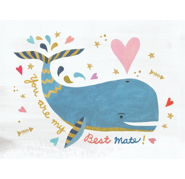 My Best Mate by Irene Chan Canvas Art by Oopsy Daisy