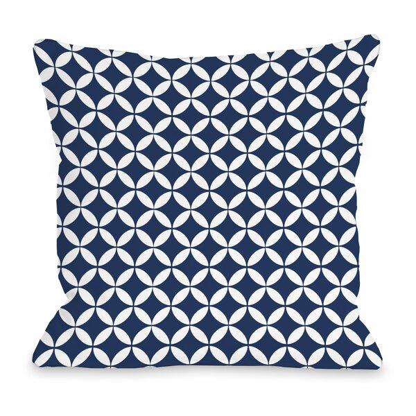 Dahlia Moroccan Throw Pillow by One Bella Casa
