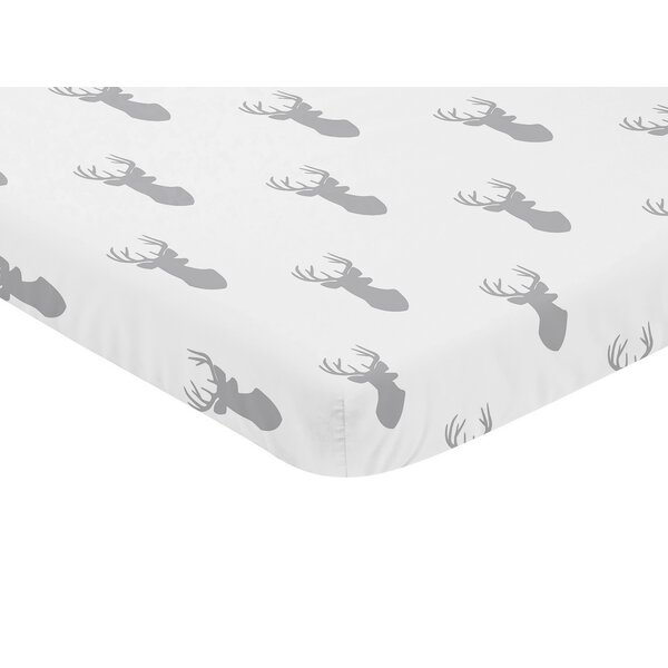 Woodland Deer Fitted Crib Sheet by Sweet Jojo Designs