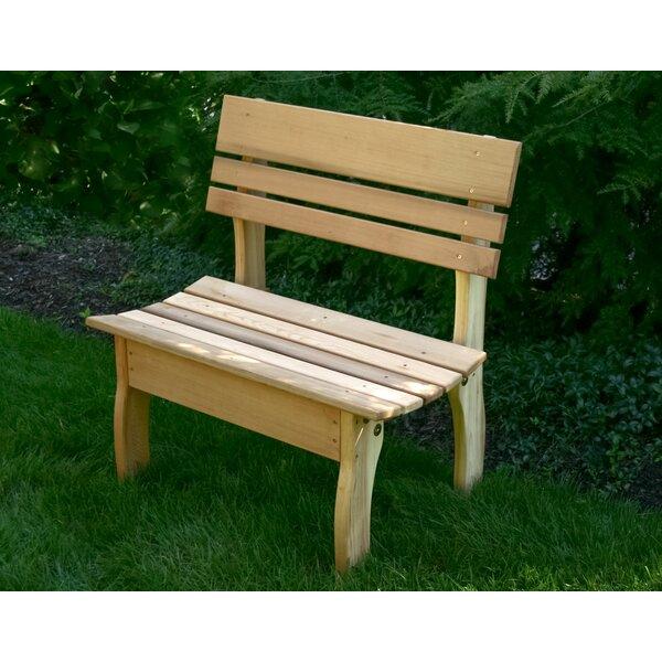 Flinchum Wooden Garden Bench by August Grove
