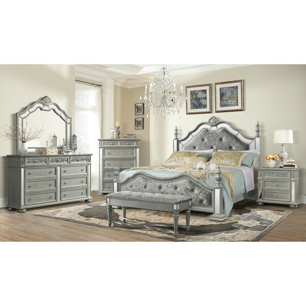 Modern  Aaden Standard Configurable Bedroom Set By Rosdorf Park Today Only Sale