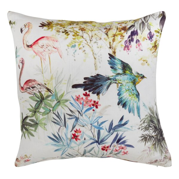 Clearview Linen Throw Pillow by Bay Isle Home