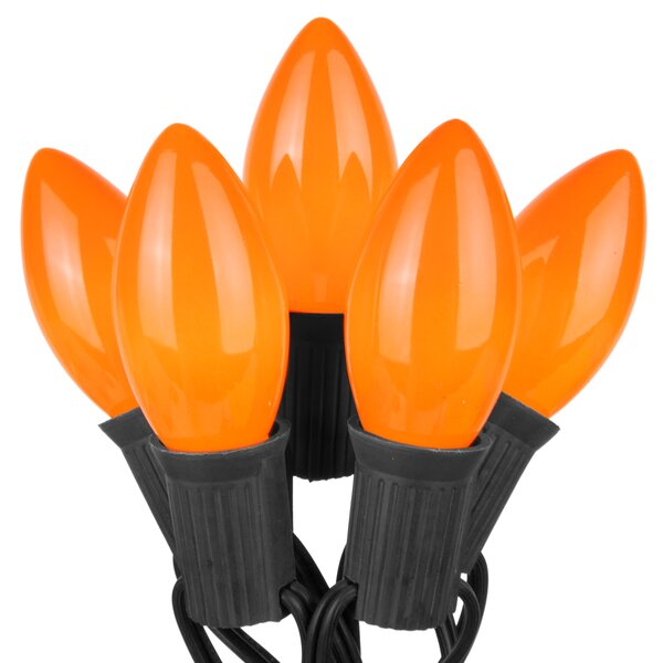Commercial Opaque Halloween 50 Light String Light by The Holiday Aisle