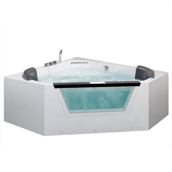 59 x 59 Whirlpool Tub by Ariel Bath
