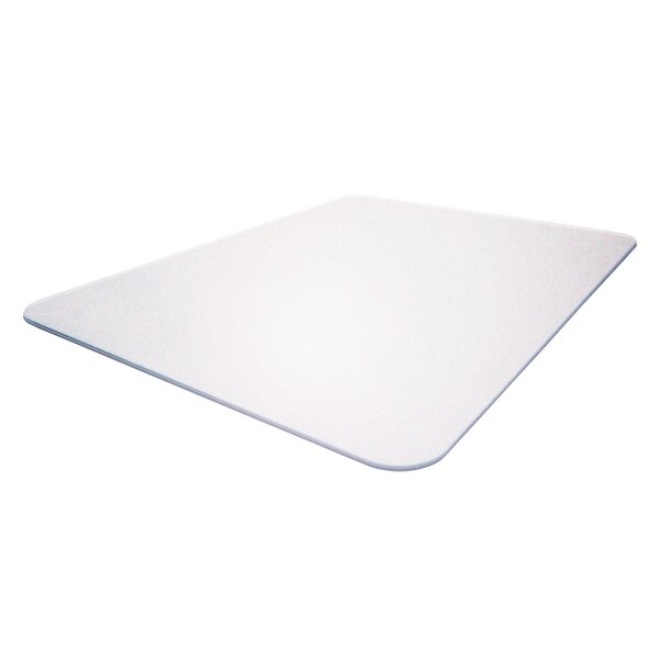 Cleartex Mega Beveled Chair Mat by Floortex