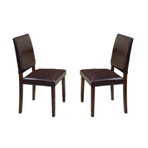 Whetzel Upholstered DIning Chair (Set of 2) by Millwood Pines