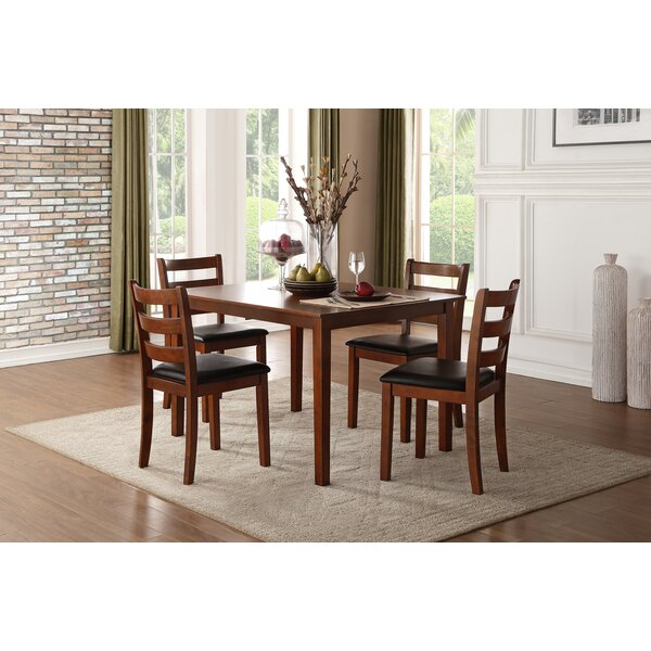 Maglio 5 Piece Dining Set by Winston Porter