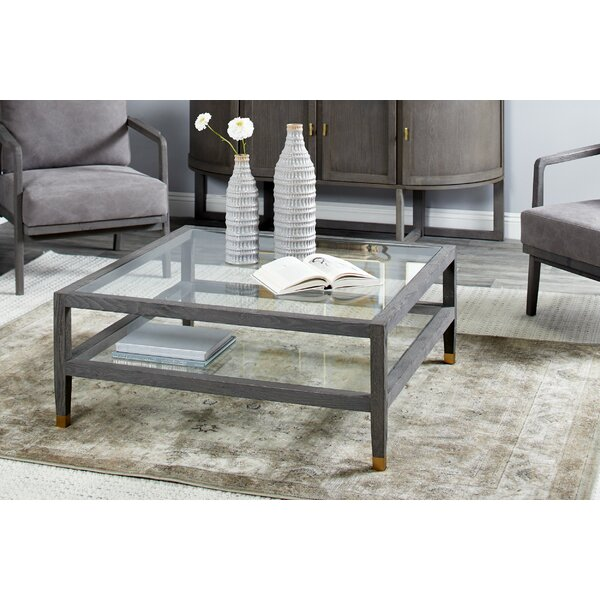 Mohall Coffee Table With Tray Top By Brayden Studio