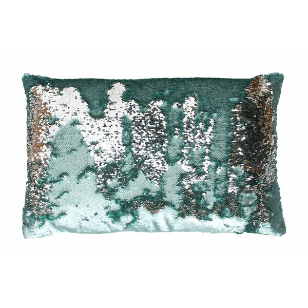 Mermaid Sequin Reversible Melody Lumbar Pillow by Thro by Marlo Lorenz