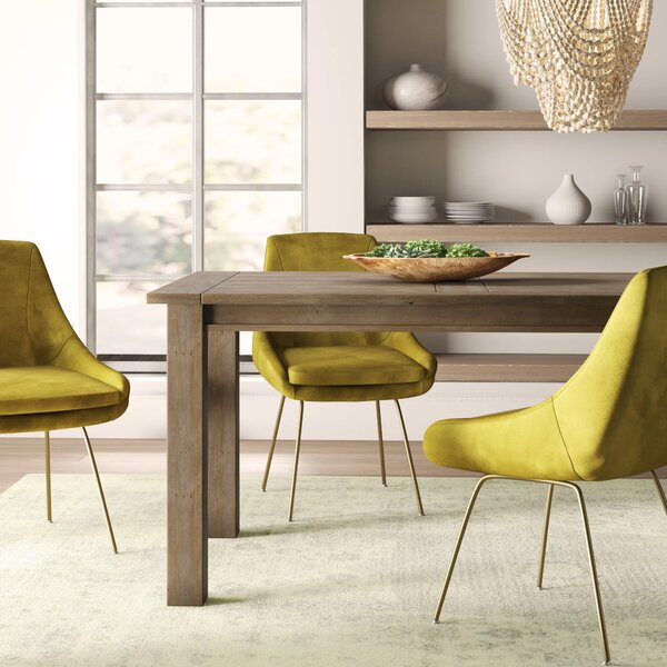 Gaia Driftwood Solid Wood Dining Table by Mistana Mistana