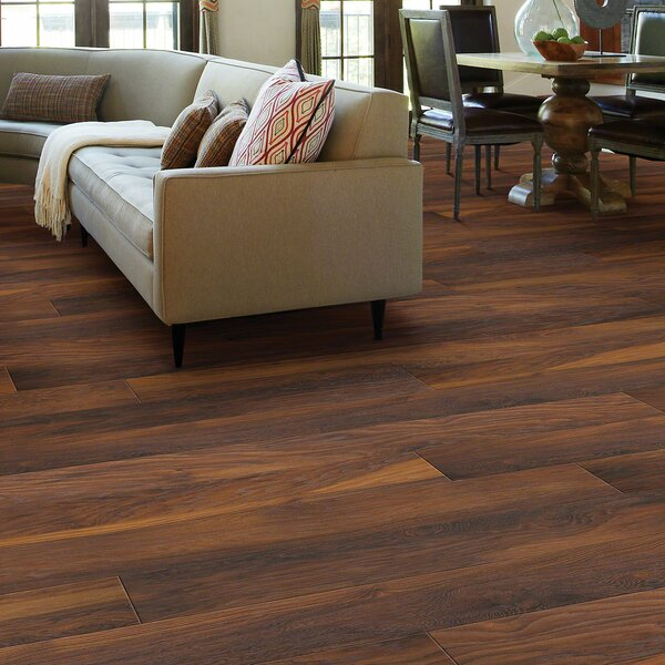 Mont Blanc 8 x 79 x 10mm Hickory Laminate Flooring in Mountaineer by Shaw Floors