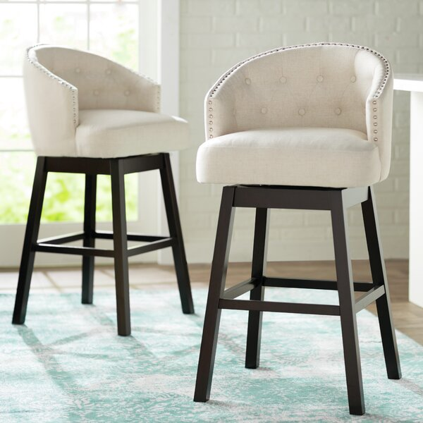 Farmington 29 Swivel Bar Stool (Set of 2) by Alcott Hill
