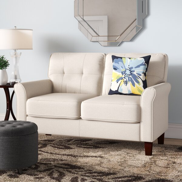 McNaboe Tufted Loveseat by Winston Porter
