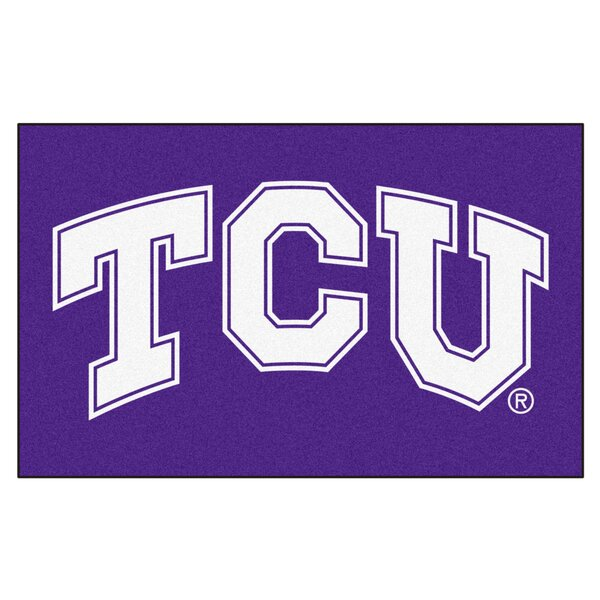 Collegiate NCAA Texas Christian University Doormat by FANMATS