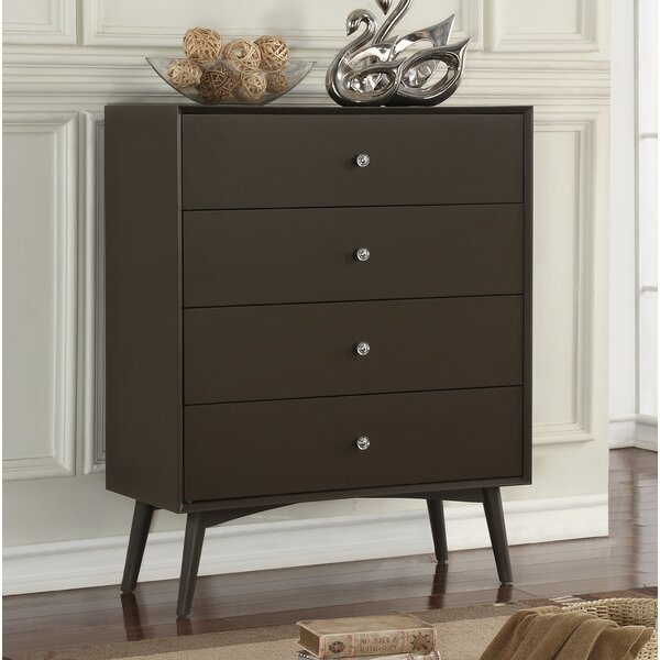 Acevedo 4 Drawer Dresser by Trule Teen