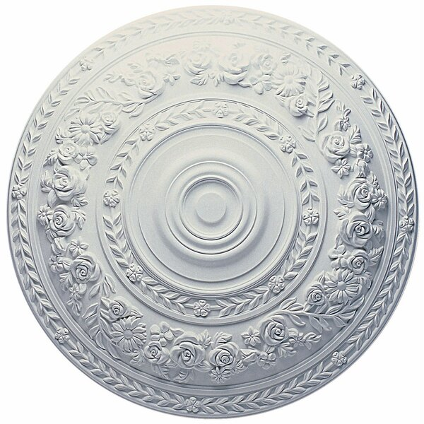 Rose 33 7/8H x 33 7/8W x 2 3/8D Ceiling Medallion by Ekena Millwork
