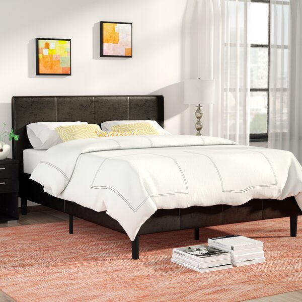 Clyde Upholstered Platform Bed by Zipcode Design