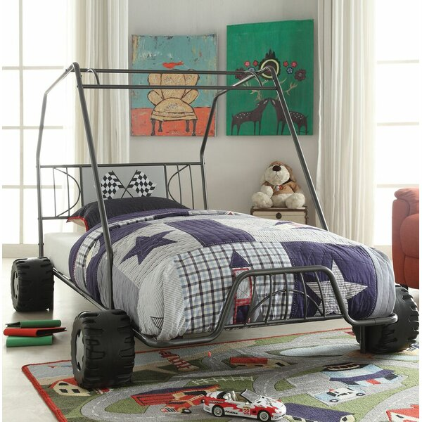 Henault Twin Car Bed by Zoomie Kids