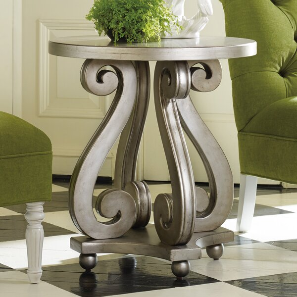 Melange End Table by Hooker Furniture