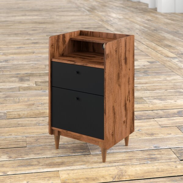 Posner 2-Drawer Vertical Filing Cabinet