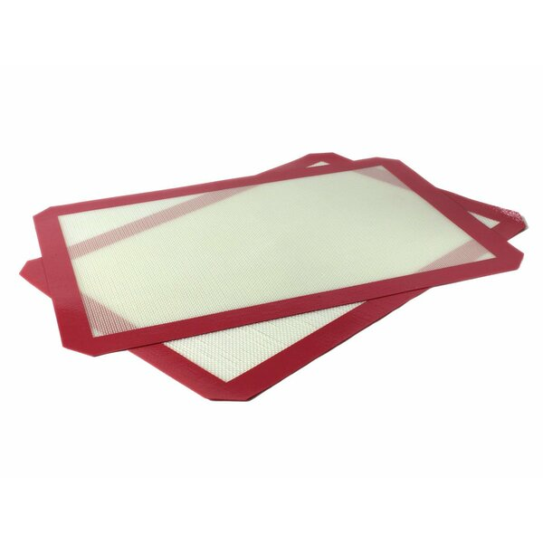Non-Stick Heat Resistant Silicone Baking Mat (Set of 2) by Kovot