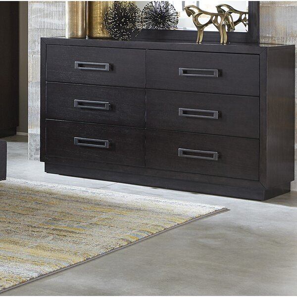 Broadnax 6 Drawer Double Dresser by Union Rustic