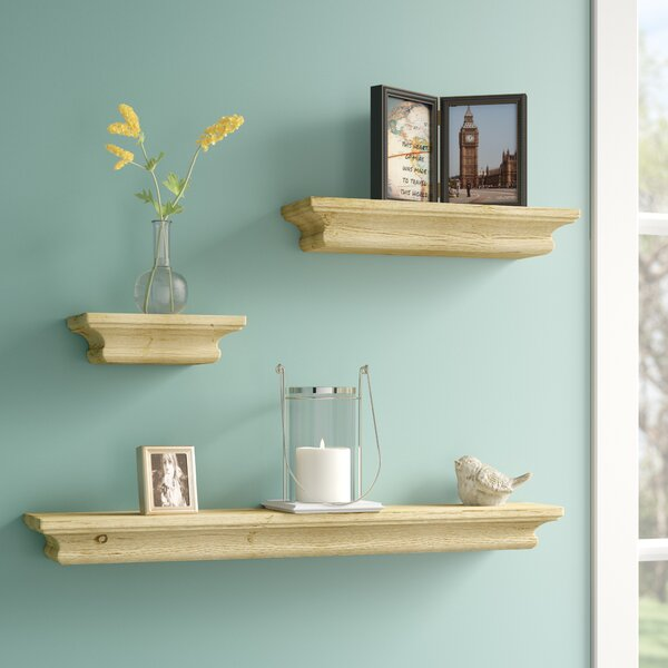 3 Piece Floating Shelf Set by Alcott Hill