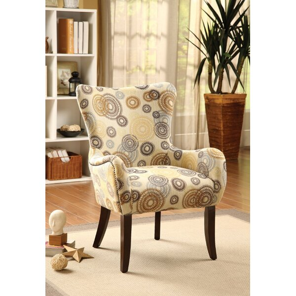 Rodley Printed Accent Armchair by Latitude Run