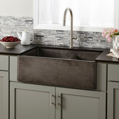 Kitchen Sink Double Basin Slate photo