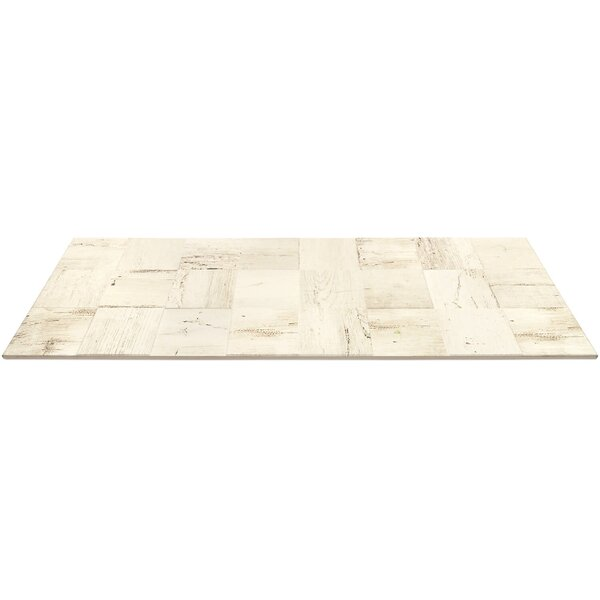 Lucky 3D 12 x 32 Ceramic Wood Look Tile in Hemp by Splashback Tile
