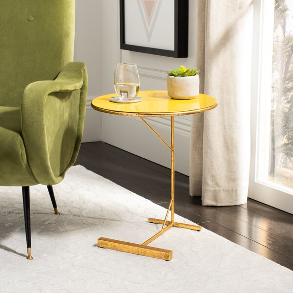 Mirasol C End Table by Everly Quinn Everly Quinn