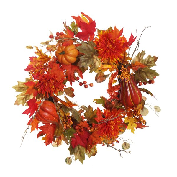 Mixed Christmas 24 Wreath by The Holiday Aisle