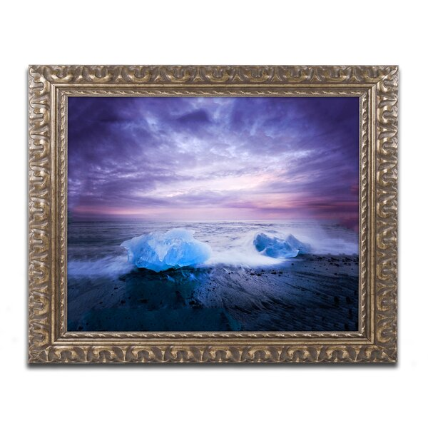 Hot and Cold by Philippe Sainte-Laudy Framed Photographic Print by Trademark Fine Art