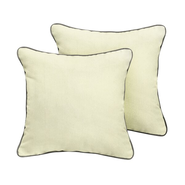 Abington Sunbrella Outdoor Throw Pillow (Set of 2) by Beachcrest Home