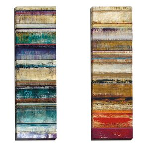 Crescendo I by Douglas 2 Piece Painting Print on Wrapped Canvas Set by Portfolio Canvas Decor