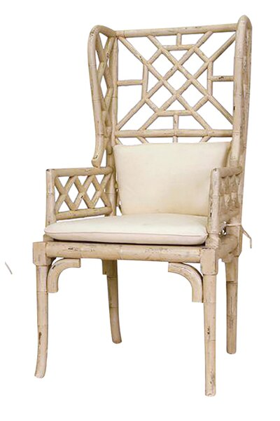 Constantia Wing Back Arm Chair (Set of 2) by Bay Isle Home