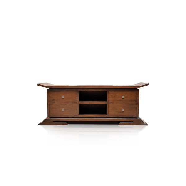 Cecere Solid Wood TV Stand for TVs up to 70
