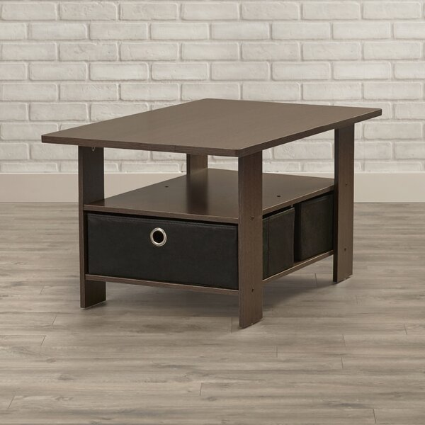 Kenton Coffee Table With Storage By Wrought Studio