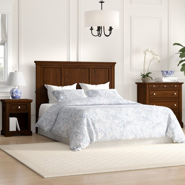 Borden Standard 3 Piece Bedroom Set by Three Posts