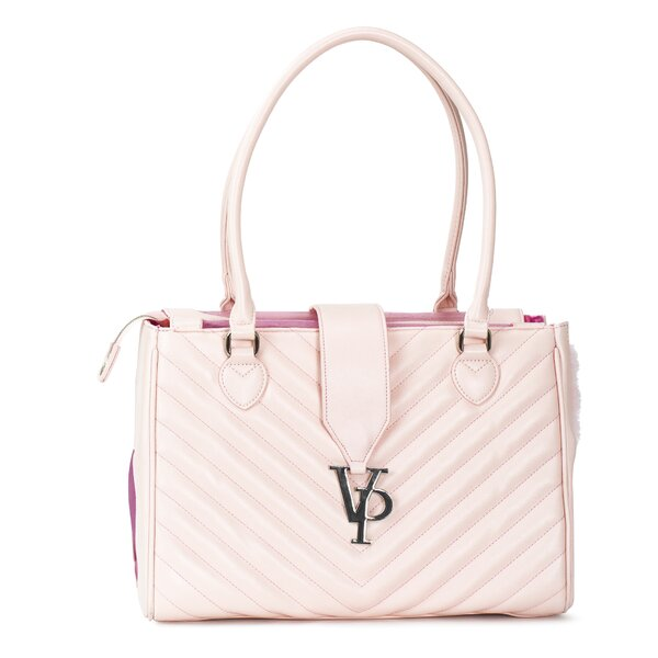 Monogrammed Strap Pet Carrier by Vanderpump Pets