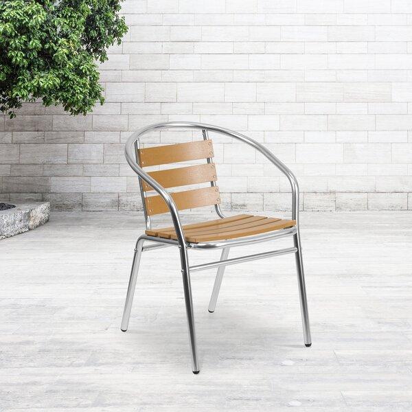Perrytown Stacking Patio Dining Chair by Zipcode Design Zipcode Design