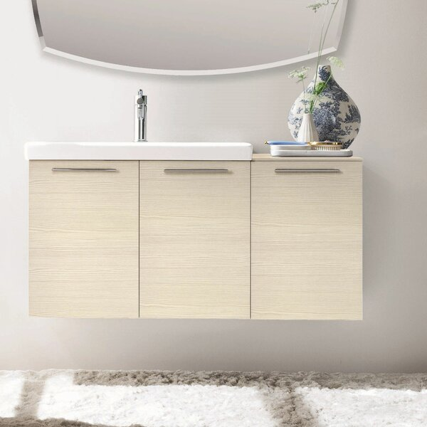 42 Single Modern Bathroom Vanity Set by Acquaviva